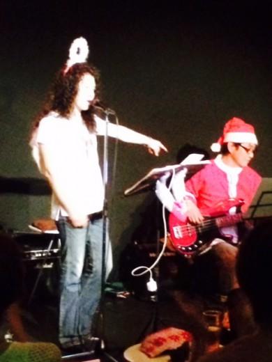 クリスマスライブ野本田中